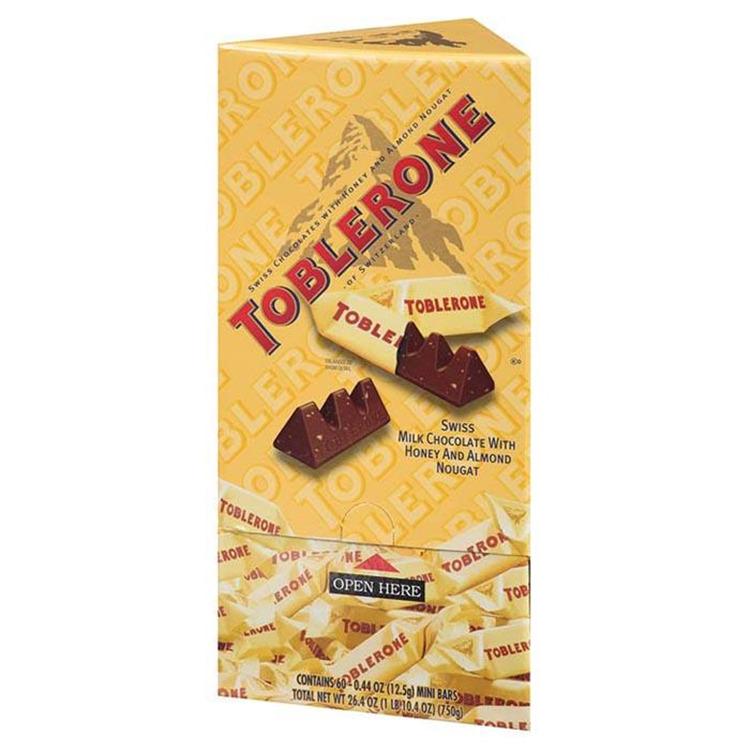 Toblerone Bar Minis Milk - Pack of 80