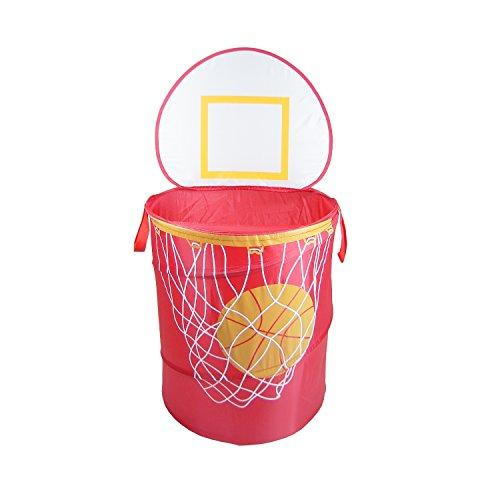 WC Redmon Bongo Buddy - Basketball pop up hamper [Item # 6085RD]