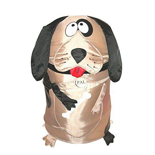 Bongo Buddy - Brown Dog Pop Up Hamper