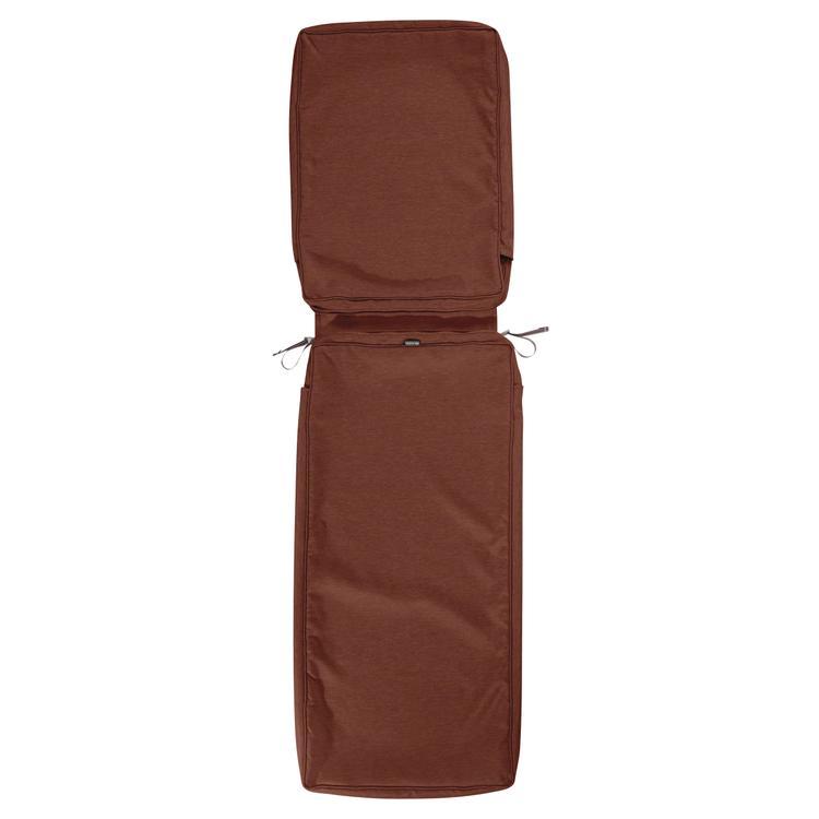 Classic Accessories Montlake Fadesafe Patio Chaise Lounge Cushion Slip Cover - 3