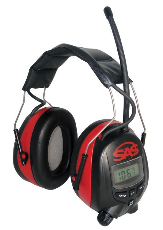 6108 Earmuff Digital Amfm