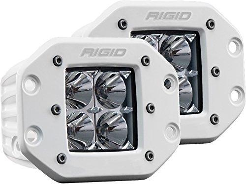 Flood Light, Wht D-Ser. Pro, Flush, Pair