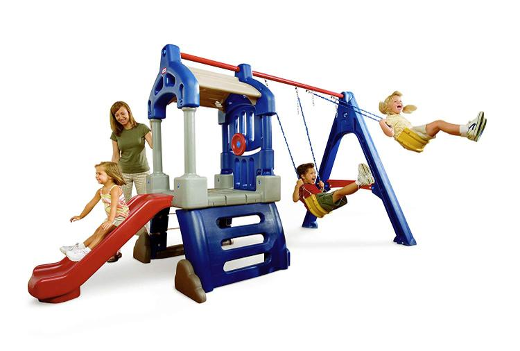 Little Tikes Clubhouse Swing Set (3L) [Item # 612398]