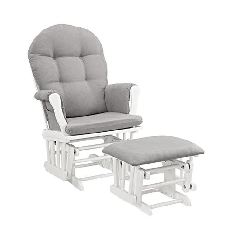 Angel Line Windsor Glider and Ottoman [Item # 61311-21]