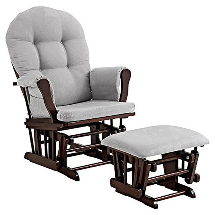 Angel Line Windsor Glider and Ottoman [Item # 61311-49]