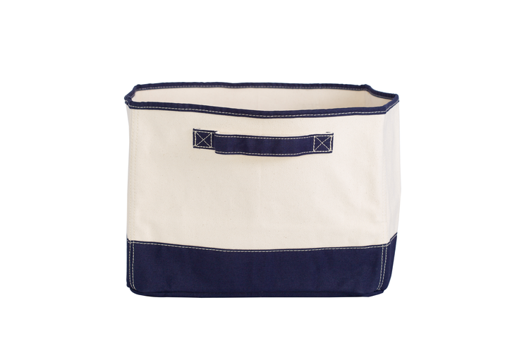 Tub Storage Bin Navy