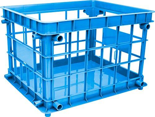 Storex Standard File Crate, Letter/Legal Size, Class Blue, 3-Pack