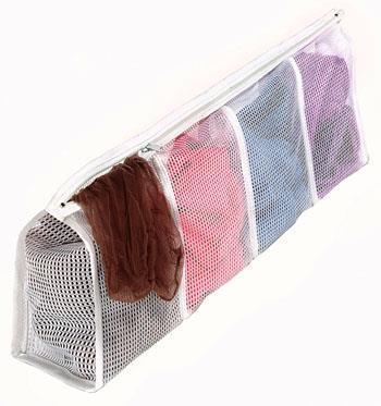 6154-988 Wash Bag Hosiery Wht