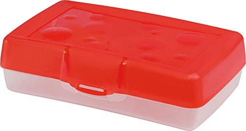 Storex Pencil Case, Red, 12-Pack