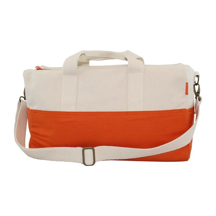 Colorblock Duffel Orange