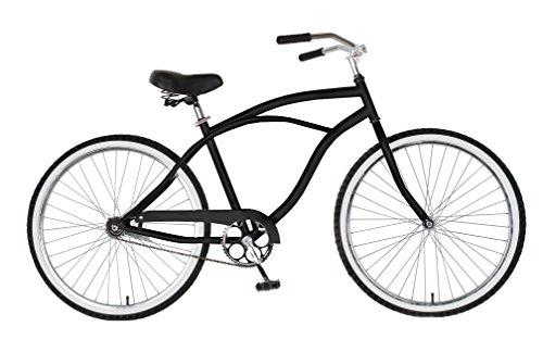 Cruiser Bike, 26 inch wheels, 18 inch frame, Men's Bike, Black