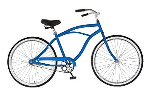 Cruiser Bike, 26 inch wheels, 18 inch frame, Men's Bike, Blue
