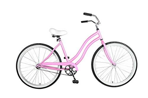 Cruiser Bike, 26 inch wheels, 18 inch frame, Women's Bike, Pink