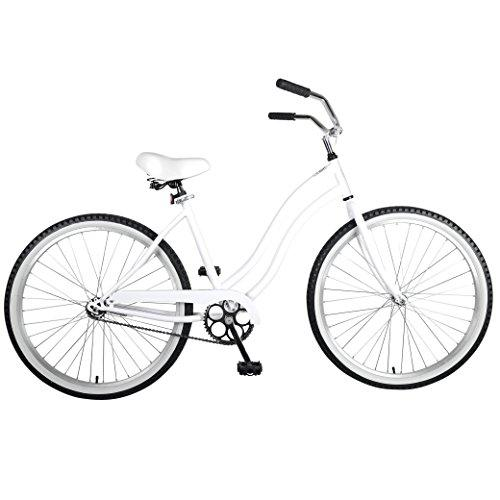 Cruiser Bike, 26 inch wheels, 18 inch frame, Women's Bike, White