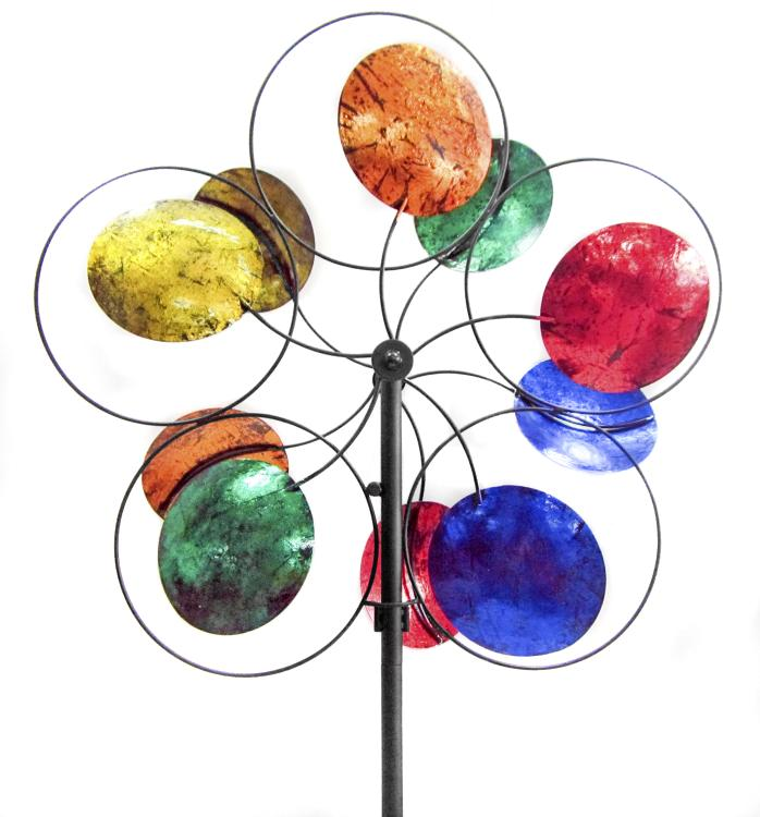 American Furniture Classics OS Home and Office Furniture Model 622199 Cosmic Colors Wind Spinner