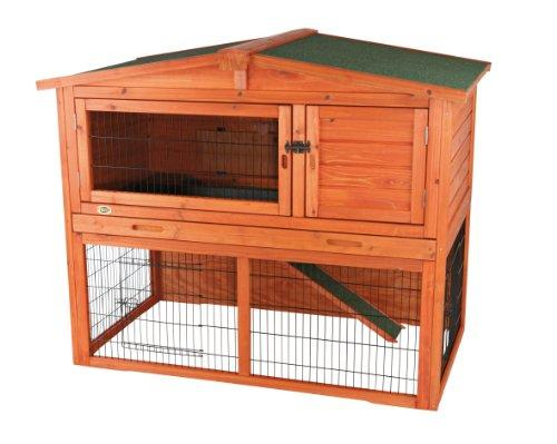 TRIXIE Pet Products Rabbit Hutch with Peaked Roof