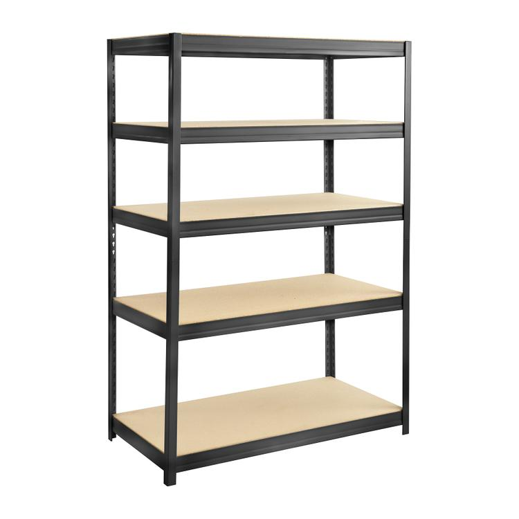 Boltless Steel and Particleboard Shelving, 48 x 24