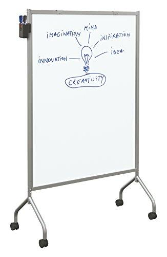 Essential Mobile Whiteboard - Magnetic - Platinum