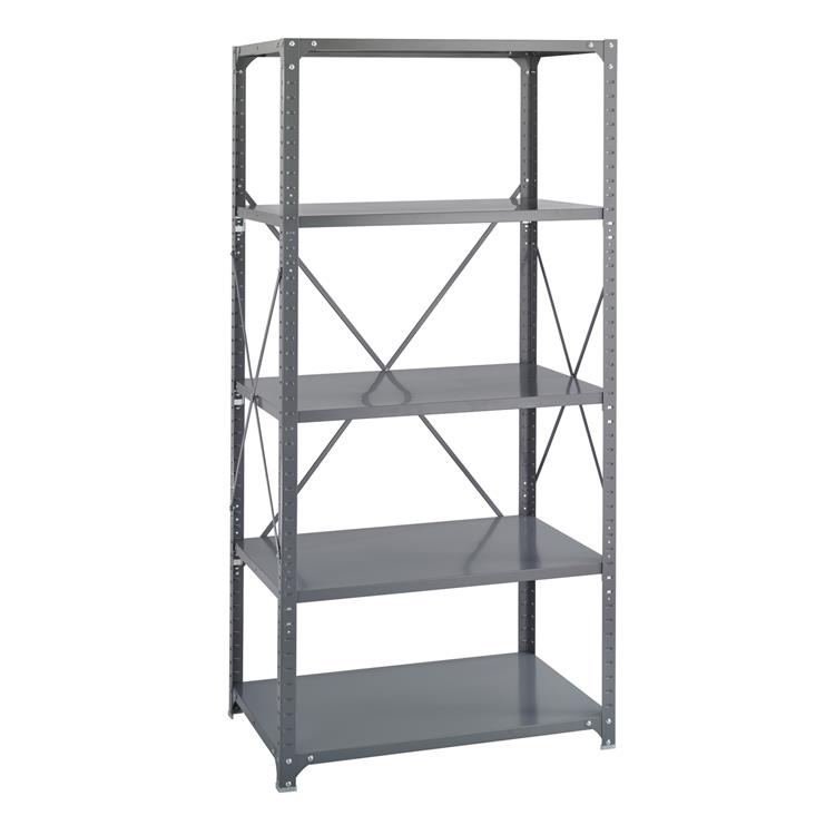 Commercial Steel Shelving, Shelf Kit, 36 x 24