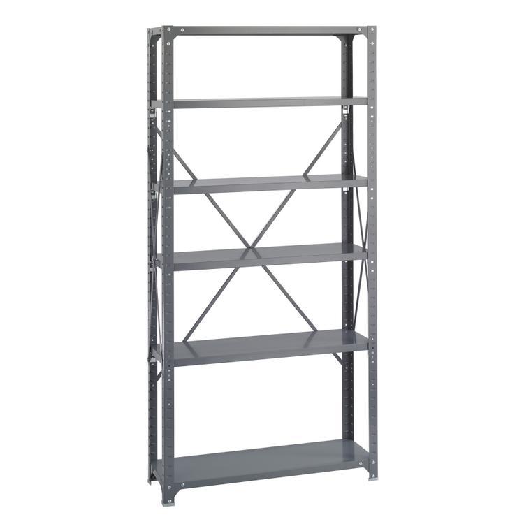 Commercial Steel Shelving, Shelf Kit, 36 x 12