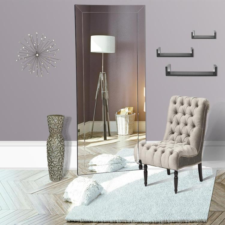 Naomi Home Mirrored Bevel Mirror