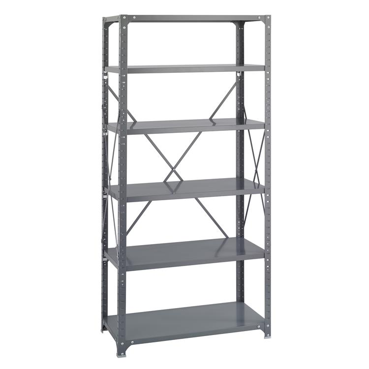 Commercial Steel Shelving, Shelf Kit, 36 x 18