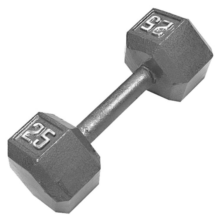 Champion Hex Solid Dumbbells
