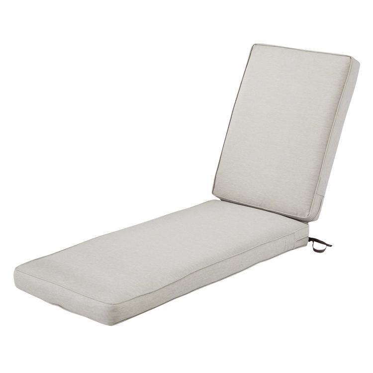Classic Accessories Montlake Fadesafe Patio Chaise Lounge Cushion - 3