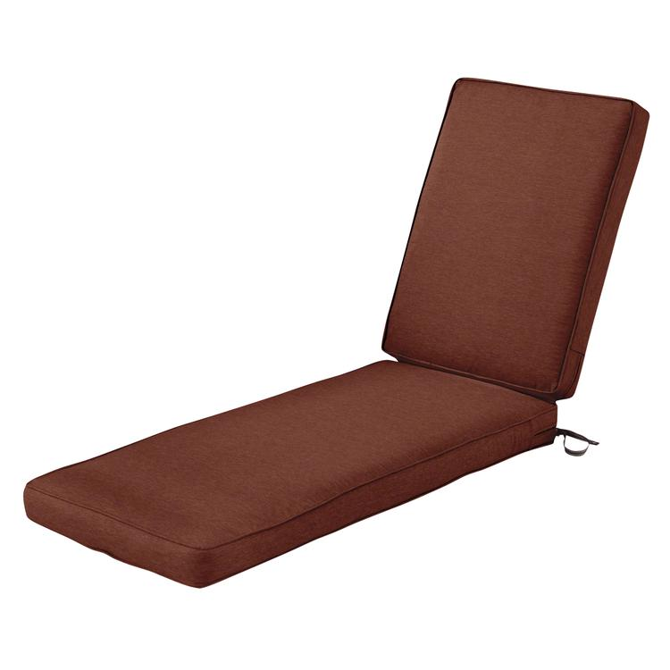 Classic Accessories Montlake Fadesafe Patio Chaise Lounge Cushion - 3