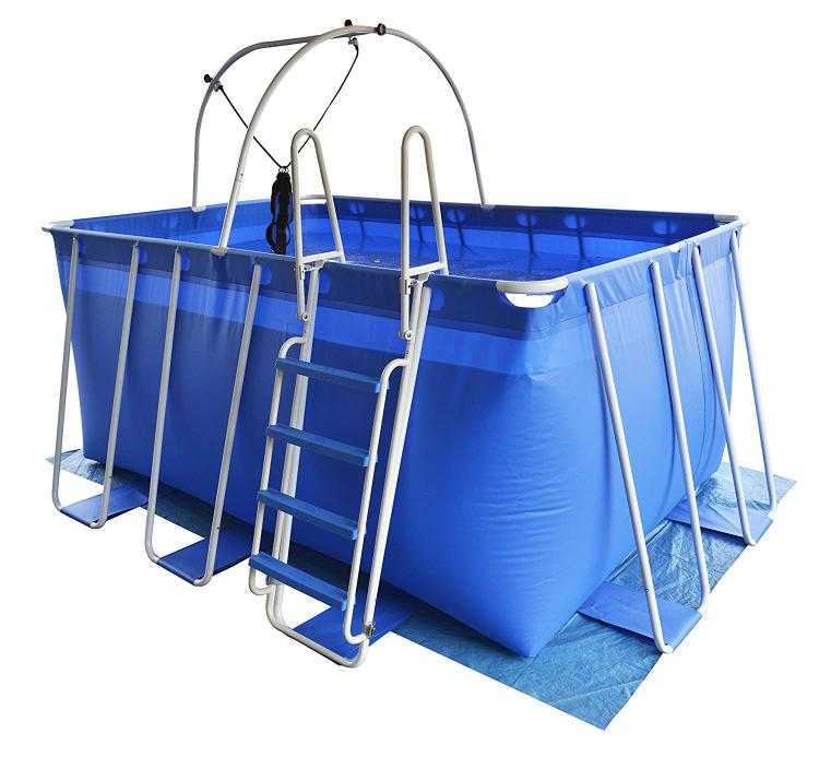 Fitmax iPool 3 (9x12') Portable Therapy Swimming Pool (Heater Sold Separately) [Item # 6322227]