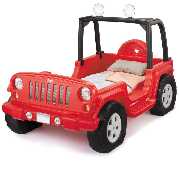 Little Tikes Jeep Wrangler Toddler to Twin Bed - [635632MX1]