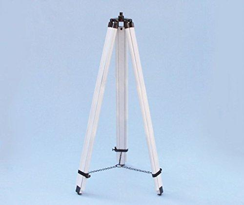 Floor Standing Oil-Rubbed Bronze/White Leather Anchormaster Telescope 65''