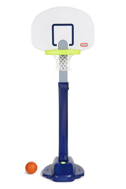 Little Tikes Adjust & Jam Pro Toy Basketball Hoop