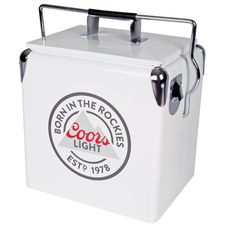 Coors Light 13 Litre Vintage Ice Chest