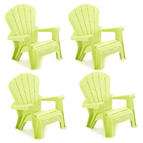 Ffp- Garden Chair Green 4 Pack (E-Commerce Only)