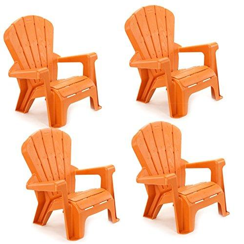 Ffp- Garden Chair Orange 4 Pack (E-Commerce Only)