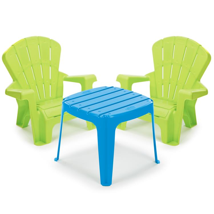 Little Tikes Garden Table and Chairs Set  - Blue/Green [Item # 644252M]
