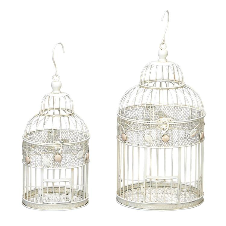Metal Bird Cage Set Of 2
