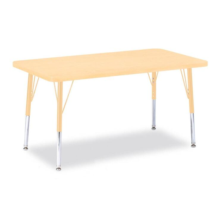 Berries® Round Activity Table Prism Maple