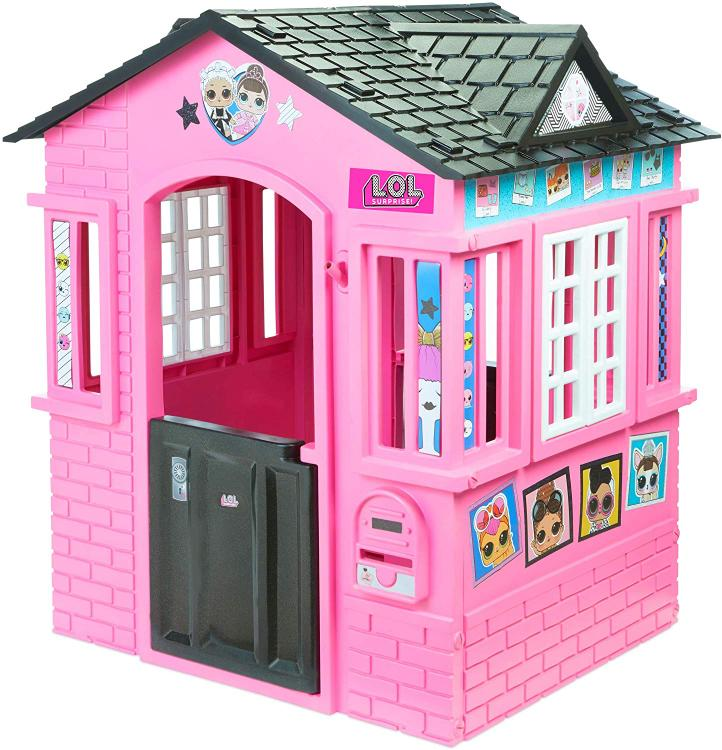 Little Tikes L.O.L. Surprise! Cottage Playhouse with Glitter [Item # 650420]
