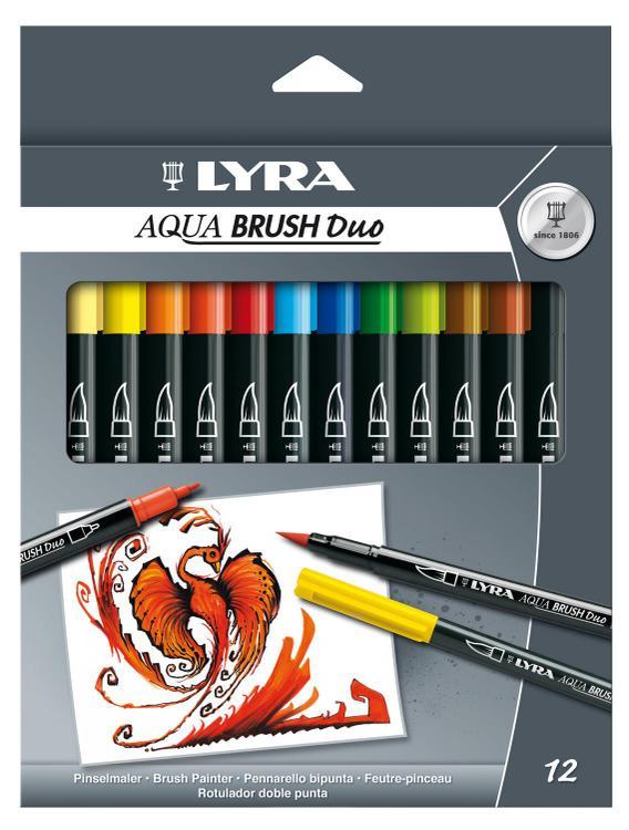 6521120 Pen Brush 12Asst