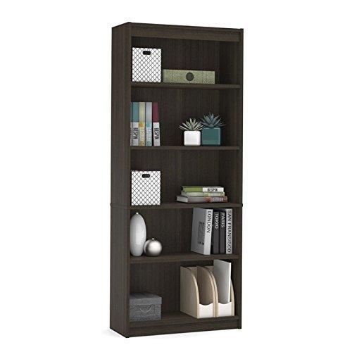 Bestar standard Bookcase in Dark Chocolate