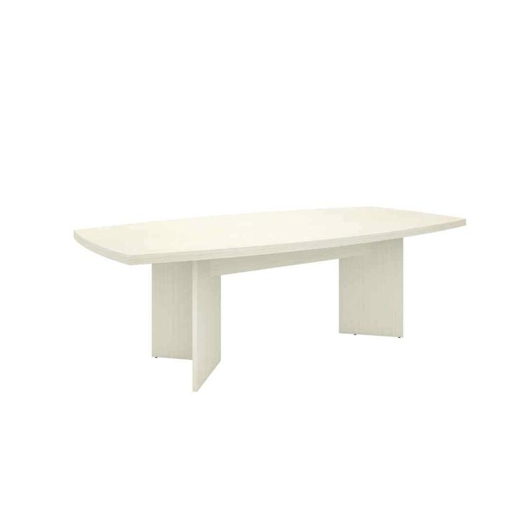 Bestar Boat-Shaped conference table with 1 3/4