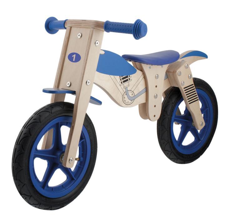 Moto 12 Wooden Balance/Running Bike