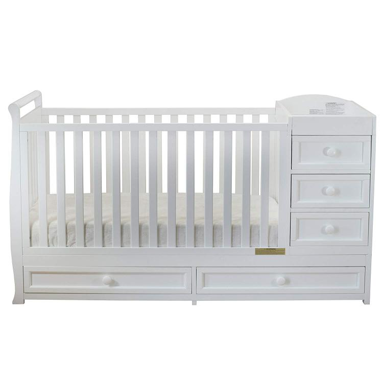 Athena Daphne Convertible Crib and Changer [Item # 661W]