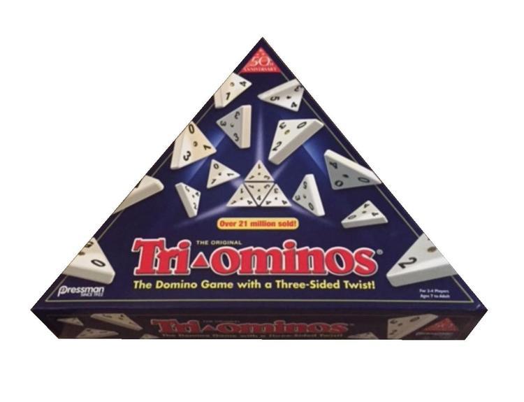 Pressman Toy Deluxe Tri-Ominos