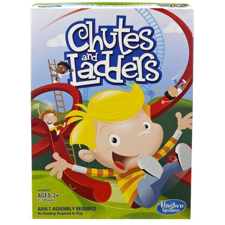 Milton Bradley Chutes And Ladders