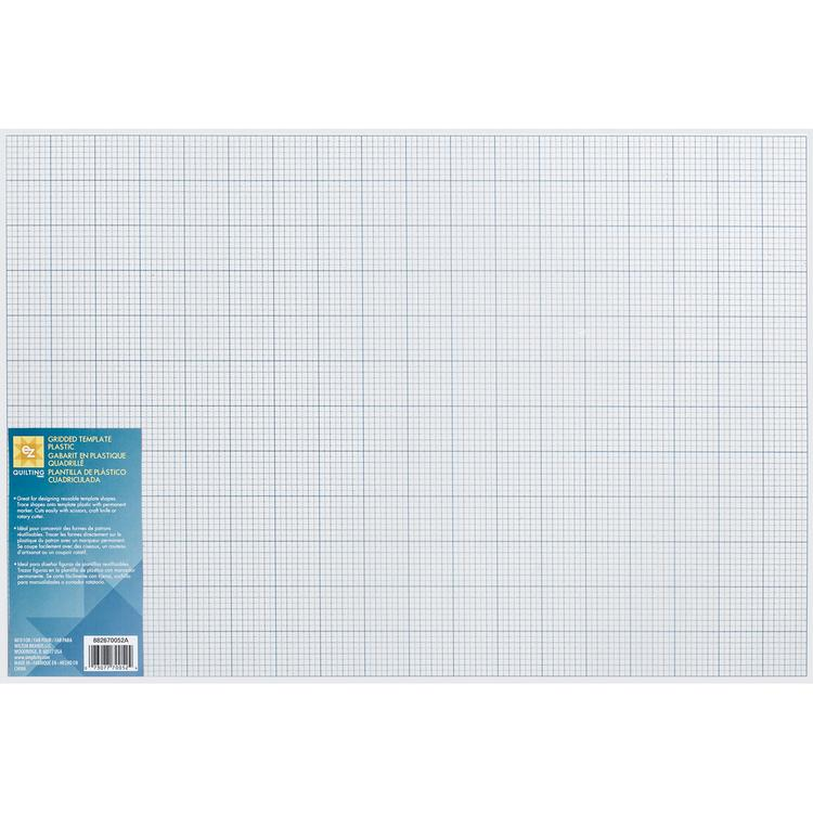 Gridded Plastic Template-12
