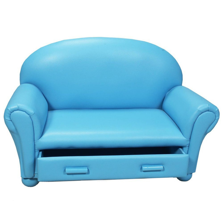 Gift Mark Child's Upholstered Chaise Lounge w/ Drawer