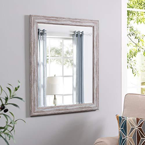 Rustic Wall Mirror by Naomi Home